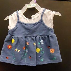 9-12M Girls T-Shirt/ Dress